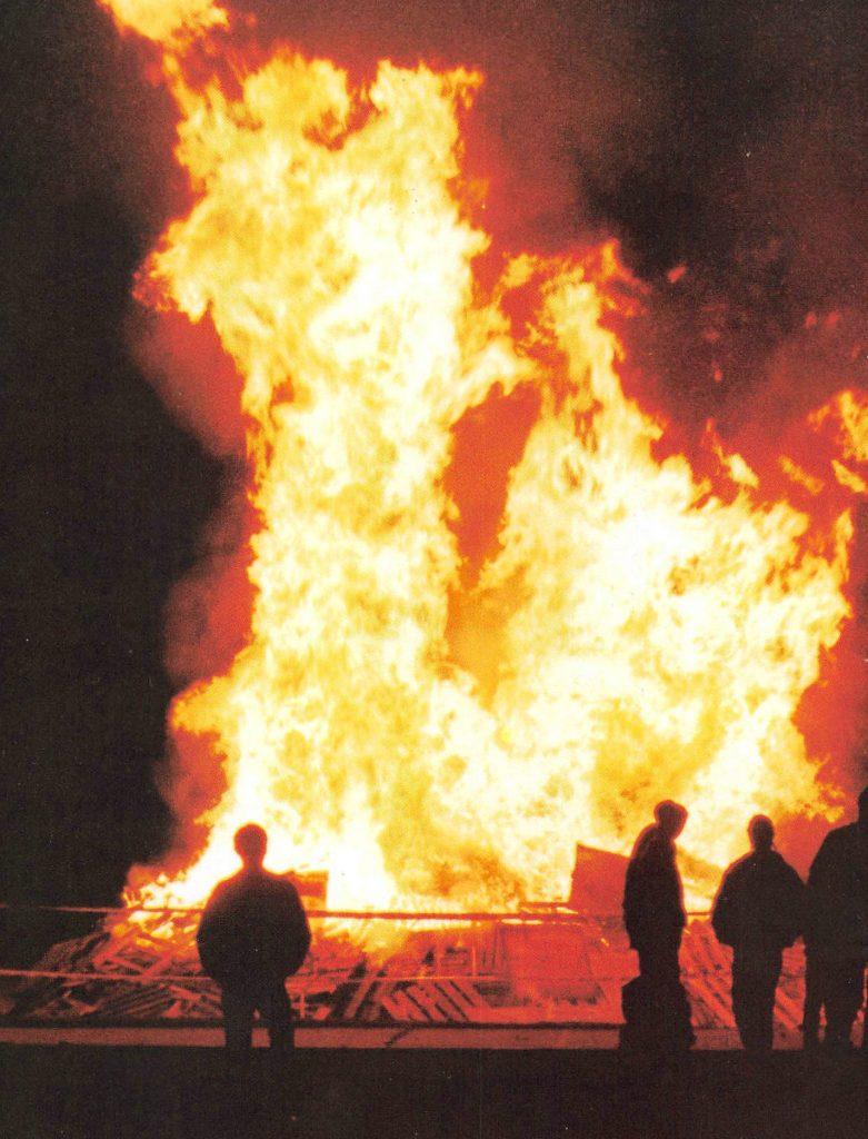 SCSU Bonfire