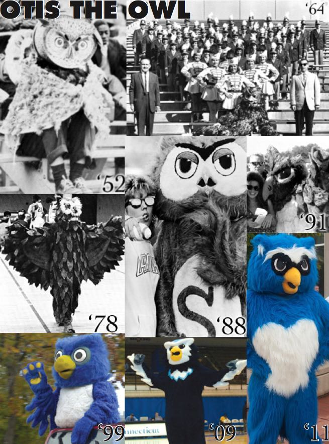 Otus the Owl through Southern's history